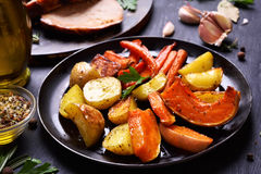 Cooked vegetables Royalty Free Stock Photo