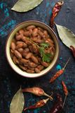 Cooked white beans. Cooked white kidney beans ready for eating stock photos