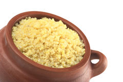 Cooked White Quinoa Royalty Free Stock Photography