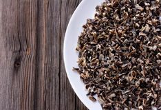Cooked Wild Rice Cereal Stock Image