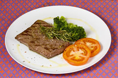 Cookedrump steak Royalty Free Stock Photo