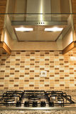 Cooker and hood Stock Photography