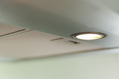 Cooker hood, light Royalty Free Stock Image