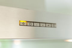 Cooker hood, switch Royalty Free Stock Photos
