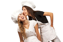 Cookers sharing their secrets Stock Image