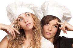Cookers think: Royalty Free Stock Image