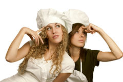 Cookers think: Royalty Free Stock Images