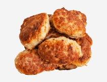 cookery Prato da carne Fotografia de Stock Royalty Free