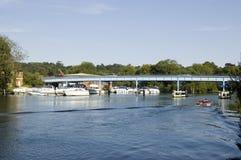 Cookham的河泰晤士,柏克夏 免版税库存图片