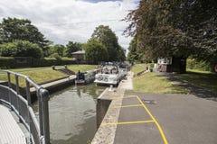 Cookham Lock Royalty Free Stock Image
