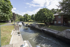 Cookham Lock Royalty Free Stock Image