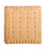 Cookie. Isolated on white background royalty free stock image