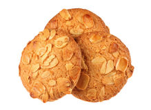 Cookie with almond Stock Images