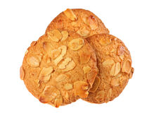 Cookie with almond Stock Photo