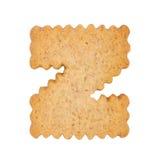 Cookie alphabet symbol - Z Stock Photos