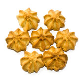 Cookie asterisk Royalty Free Stock Photography