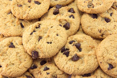 Cookie background. Stock Images