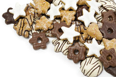 Cookie background Royalty Free Stock Photography