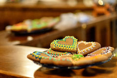 Cookie bakery. In Torun Thorn Stock Image