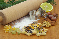 Cookie baking Royalty Free Stock Photography