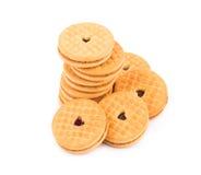 Cookie biscuits Stock Image