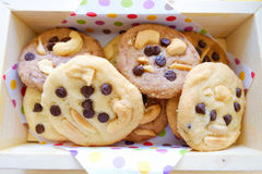 Cookie in the Box Royalty Free Stock Photography