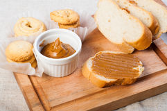Cookie butter spread Stock Photography