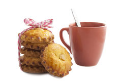 Cookie and cafe Royalty Free Stock Photography