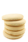Cookie called Friese theekoek on a white background Royalty Free Stock Photography