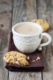 Cookie and cappuccino Royalty Free Stock Image