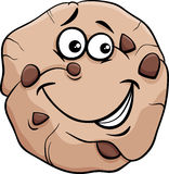 Cookie cartoon illustration Royalty Free Stock Photography