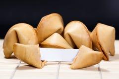 cookie chińska fortunę Zdjęcie Stock