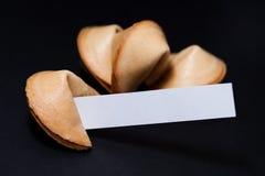 cookie chińska fortunę Obrazy Stock