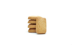 Cookie chip and Sugar cookie. On white background Royalty Free Stock Images