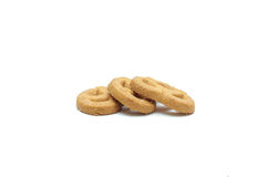 Cookie chip and Sugar cookie. On white background Stock Image