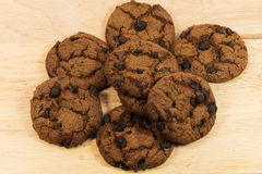 Cookie chip Stock Images