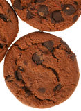 Cookie with chocolate Royalty Free Stock Image