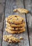 Cookie with chocolate Royalty Free Stock Photo