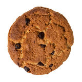 Cookie with chocolate pieces Stock Photos