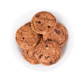 Cookie with chocolate pieces Stock Photography