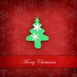 Cookie Christmas card Stock Photos