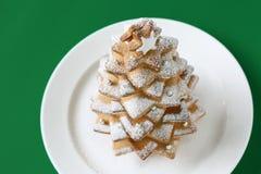 Cookie christmas tree Stock Photo