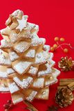 Cookie christmas tree Royalty Free Stock Photography