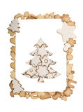 Cookie christmas tree Royalty Free Stock Photos