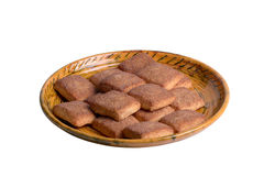 Cookie with cinnamon Stock Images