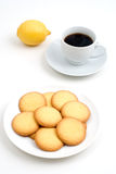 Cookie and coffee Royalty Free Stock Photos