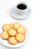 Cookie and coffee Stock Photography