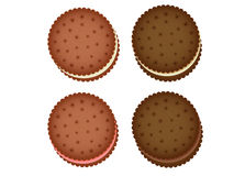 Cookie Collection. Vector File  EPS10 Stock Photography
