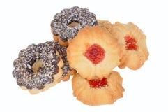 Cookie com as microplaquetas do chocolate e do coco Imagens de Stock Royalty Free