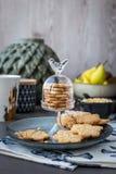 Cookie com testes padrões decorativos Imagem de Stock